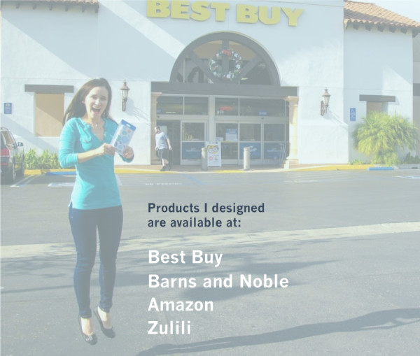 The custom products with Oksancia's vector repeat designs are available at Barns and Noble, Best Buy, Amazon, Zulili and other stores.