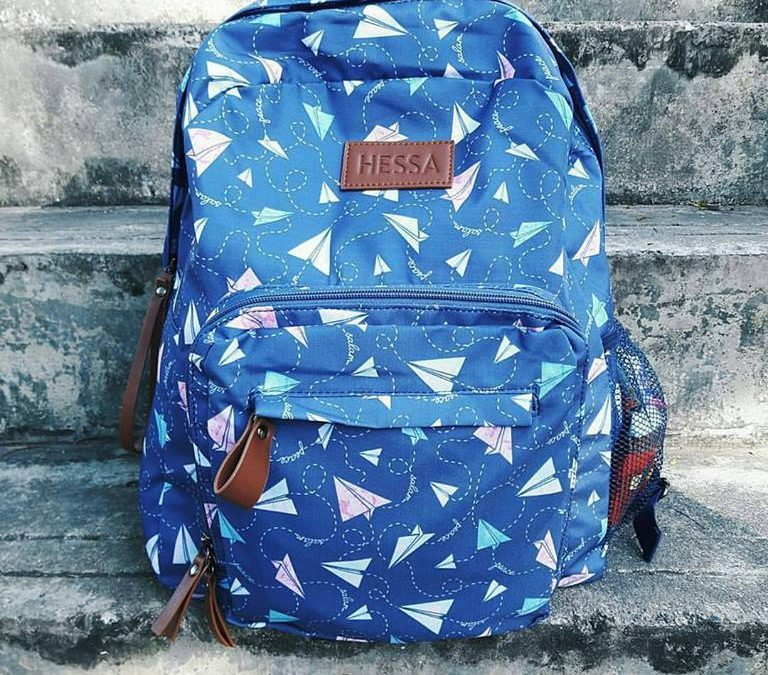 Salam Backpack Project (Paper Planes)